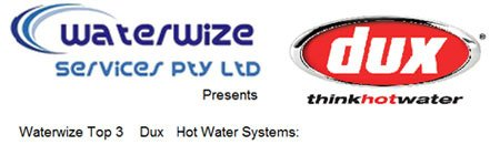 Dux Hot Water Systems at Waterwize Services