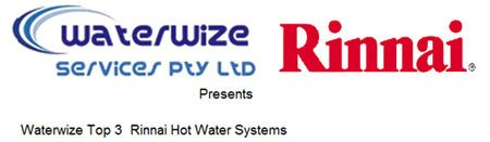 Rinnai Hot Water Systems at Waterwize Services