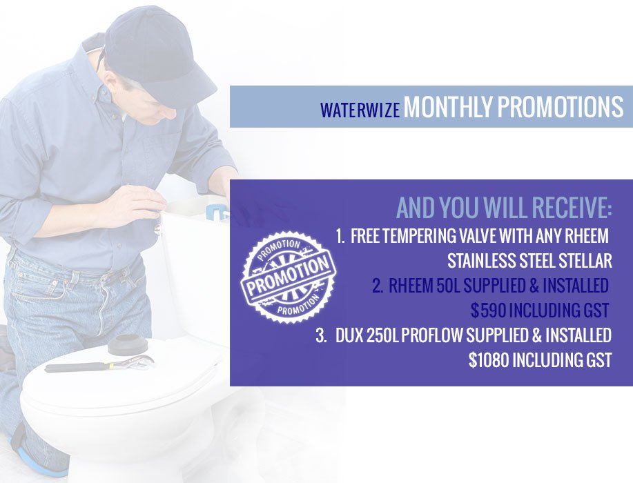 Waterwize Monthly Promotion